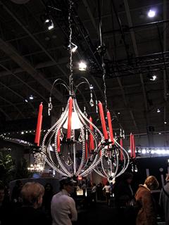 Ikea chandeliers