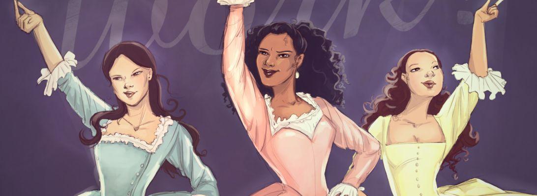 Schuyler sisters - Hamilton Fan art