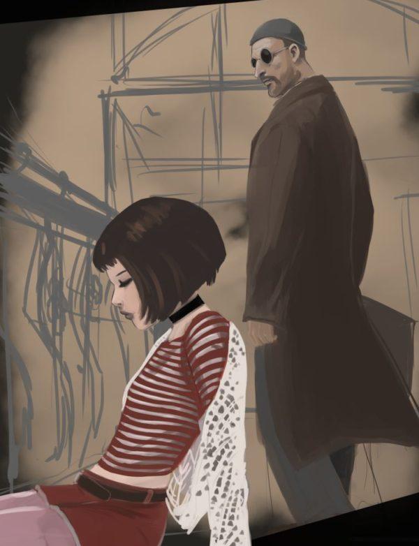 Leon and Mathilda work in progress